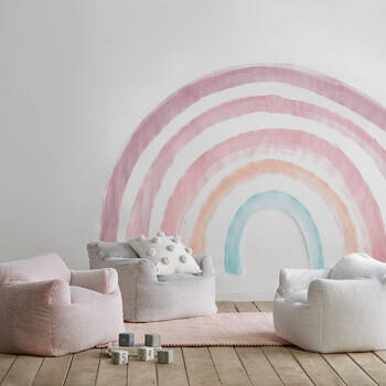 Toddlers Furry Lounge Chair