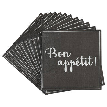 Set of 20 PBon Appétit Table Napkins