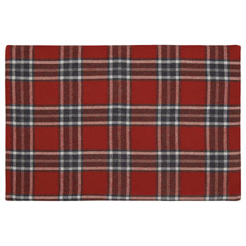 Plaid Fabric Placemat