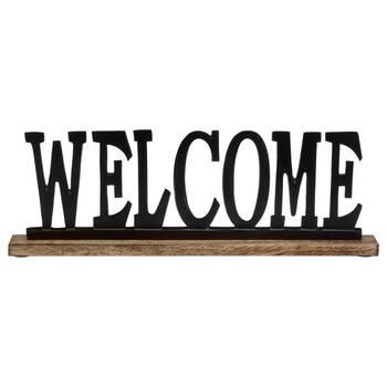 Decorative Aluminum Word Welcome
