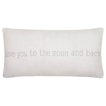 """Love You Decorative Lumbar Pillow 12"""" X 24"""""""