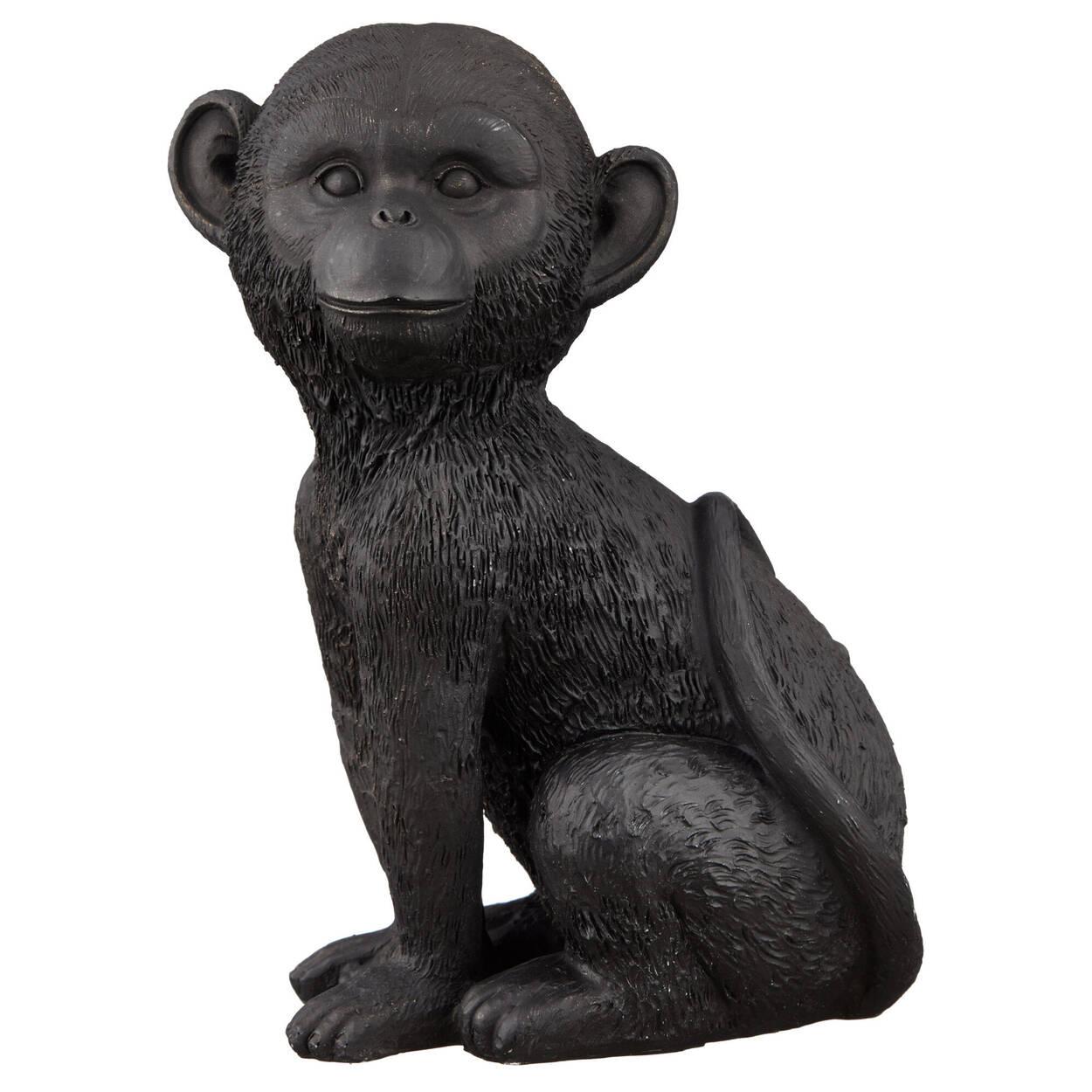 Statue d'un singe calme