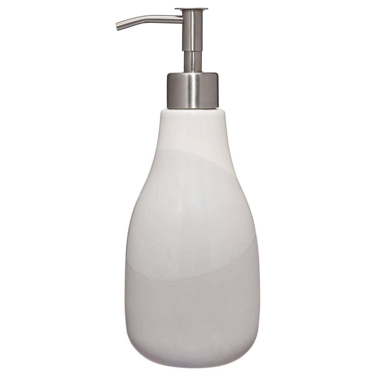 Distributeur de savon gris dégradé