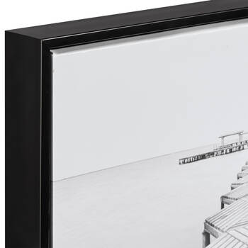 Zigzag Dock Framed Art