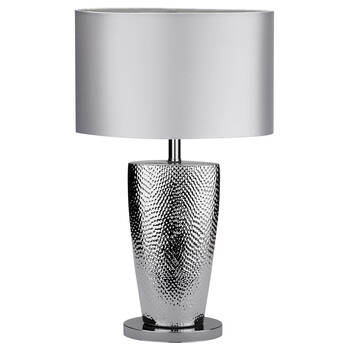 Table lamps for every room low prices bouclair chrome and satin table lamp mozeypictures Image collections