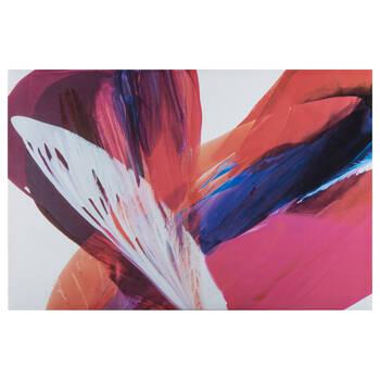 Close-up Fuchsia Flower Printed Canvas
