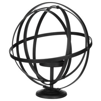 Aluminum Sphere Candle Holder