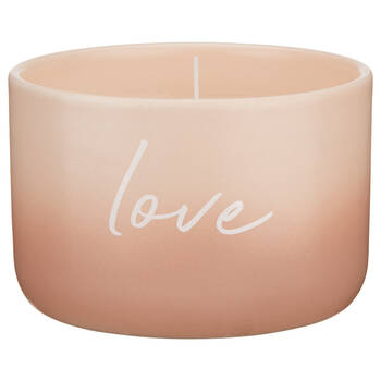 Typography Ceramic Candle