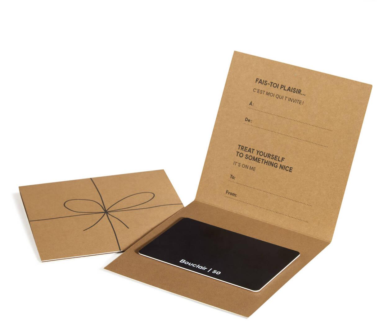 50 gift card bouclair 50 gift card solutioingenieria Gallery