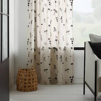 Loreta Floral Curtain
