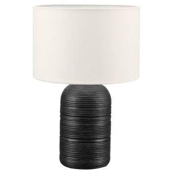 Ribbed Ceramic Table Lamp