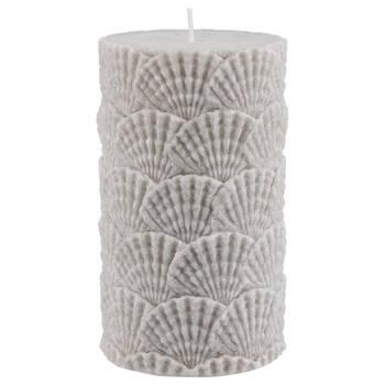 Seashells Pillar Candle