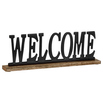 Decorative Aluminum Word Welcome