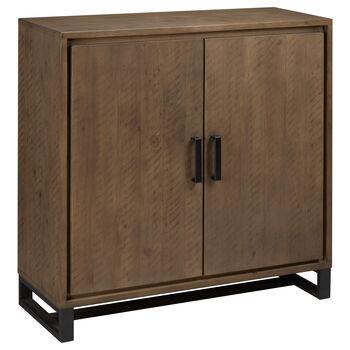 Buffet à deux portes en bois