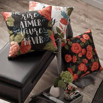 "Botanya Decorative Pillow Cover 18"" x 18"""