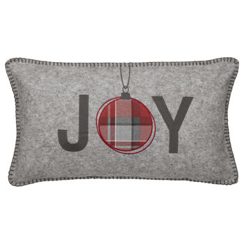 "Joy Decorative Lumbar Pillow 11"" X 20"""