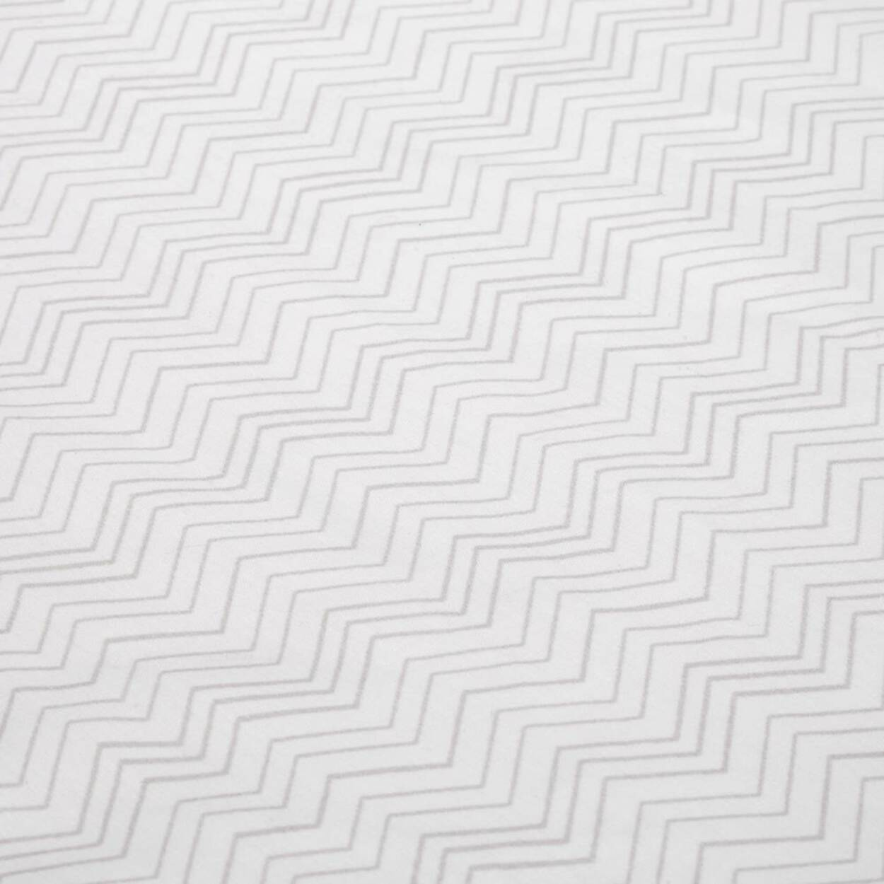 Zig Zag Fitted Crib Sheet