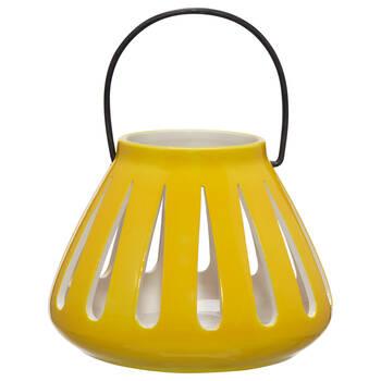 Ceramic Lantern Candle Holder