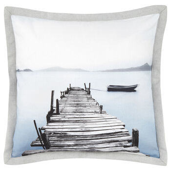 "Howick Photo Print Decorative Pillow 18"" X 18"""