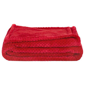 "Diamond Fleece Throw 50"" X 60'"""