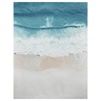 Crashing Waves Printed Canvas