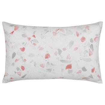 """Terrazzo Decorative Lumbar Pillow 14"""" X 22"""""""