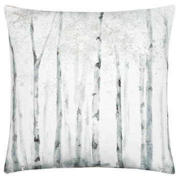 "Birch Printed Decorative Pillow 19"" X 19"""
