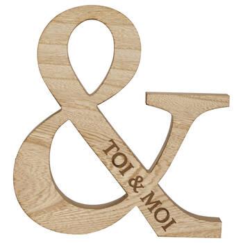 Decorative Toi & Moi Ampersand