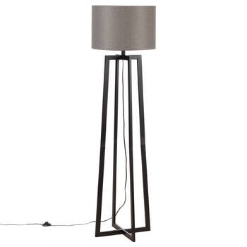 Geometric Metal Floor Lamp