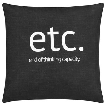 "Etc. Decorative Pillow Cover 18"" X 18"""