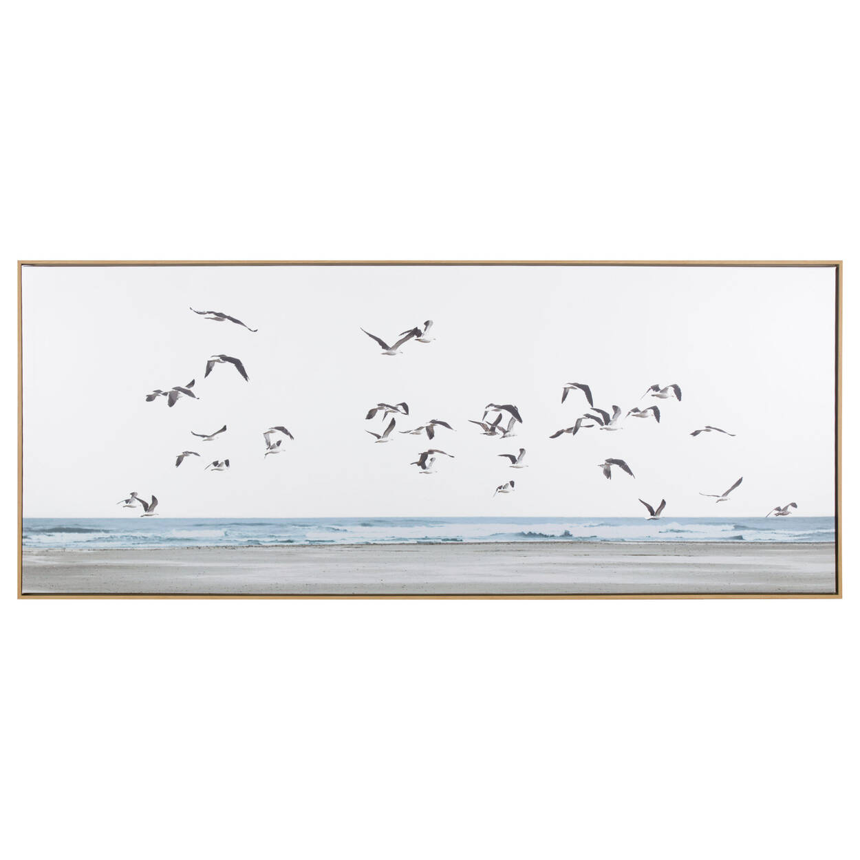 Flock of Seagulls Framed Art