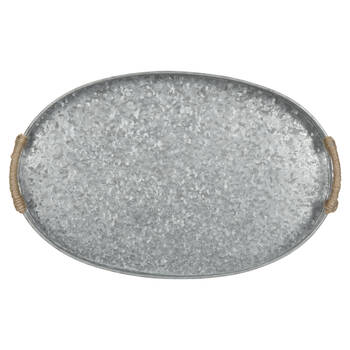 Galvanized Metal Serving Tray