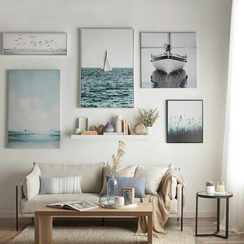 Flock of Seagulls Framed Art