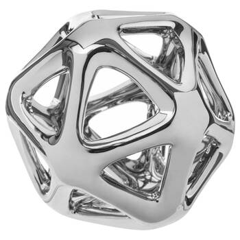 Cut-Out Ceramic Decorative Sphere