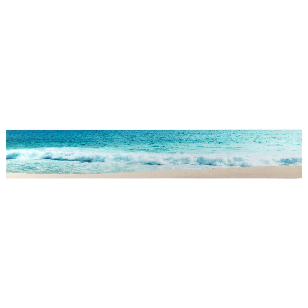Crashing Waves Printed Canvas