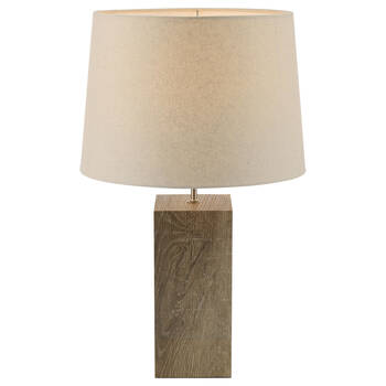 Wood-Like Table Lamp