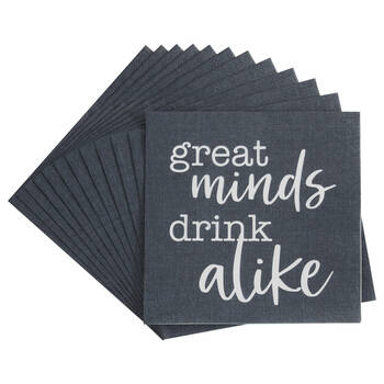 Pack of 20 Great Minds Paper Napkins