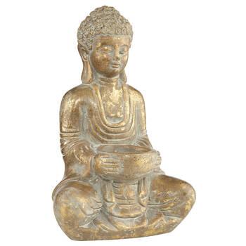 Statue de Bouddha en ciment