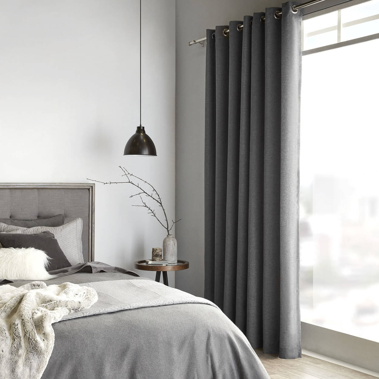 rideau dany. Black Bedroom Furniture Sets. Home Design Ideas