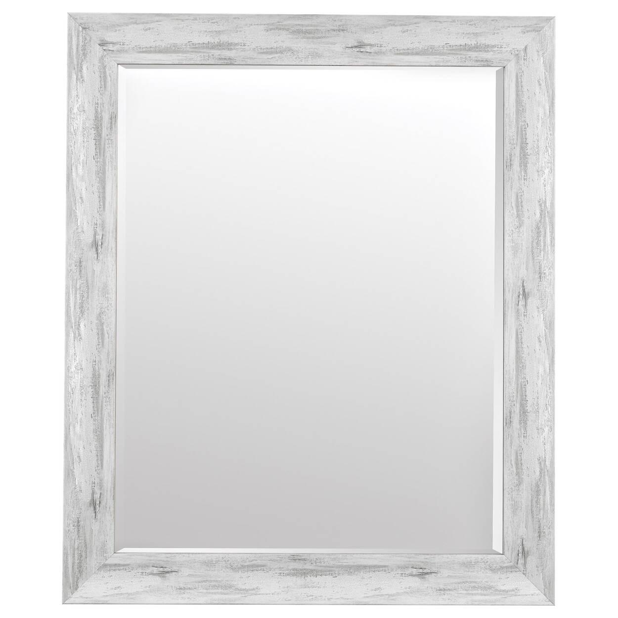 Miroir encadré effet antique