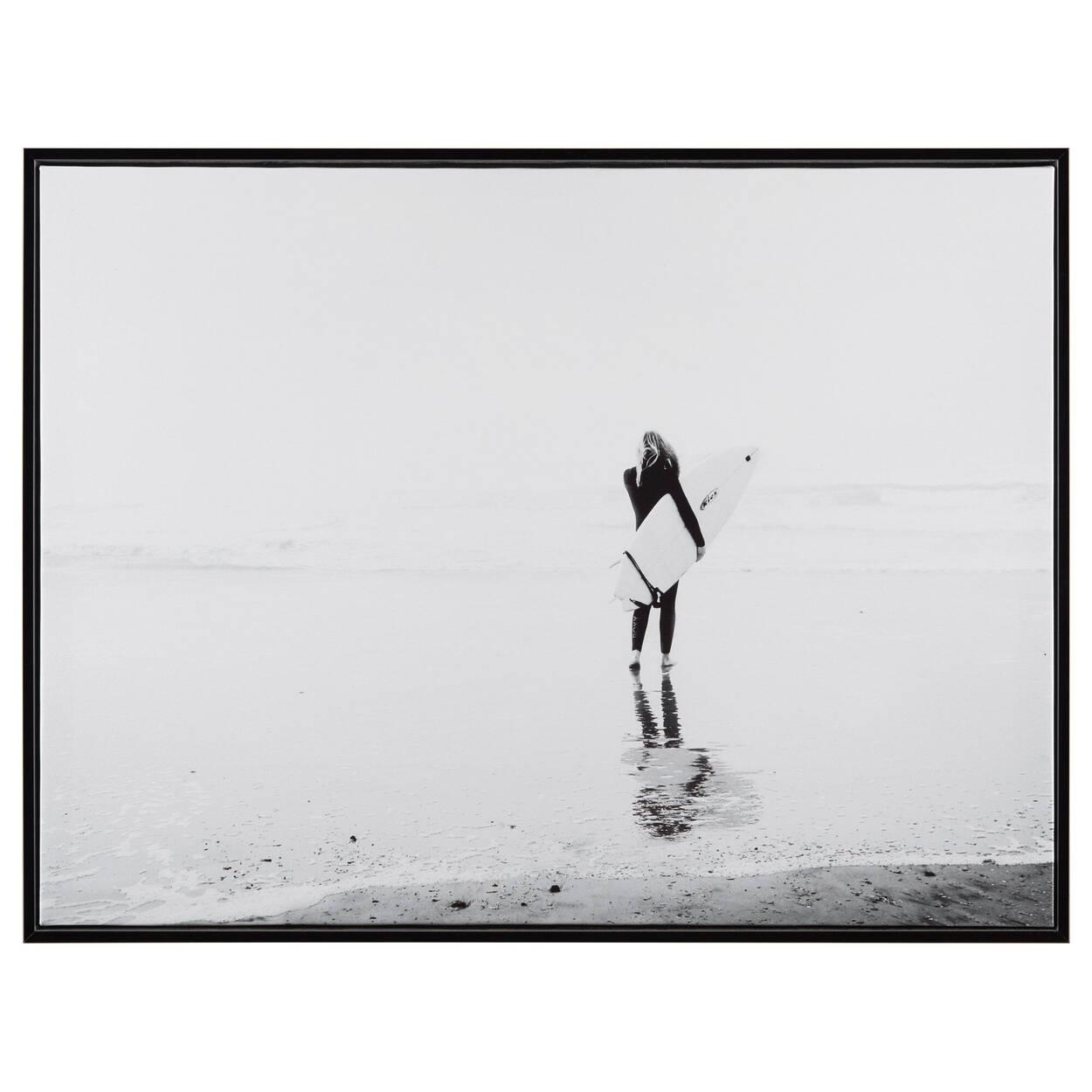 Surfer Framed Art