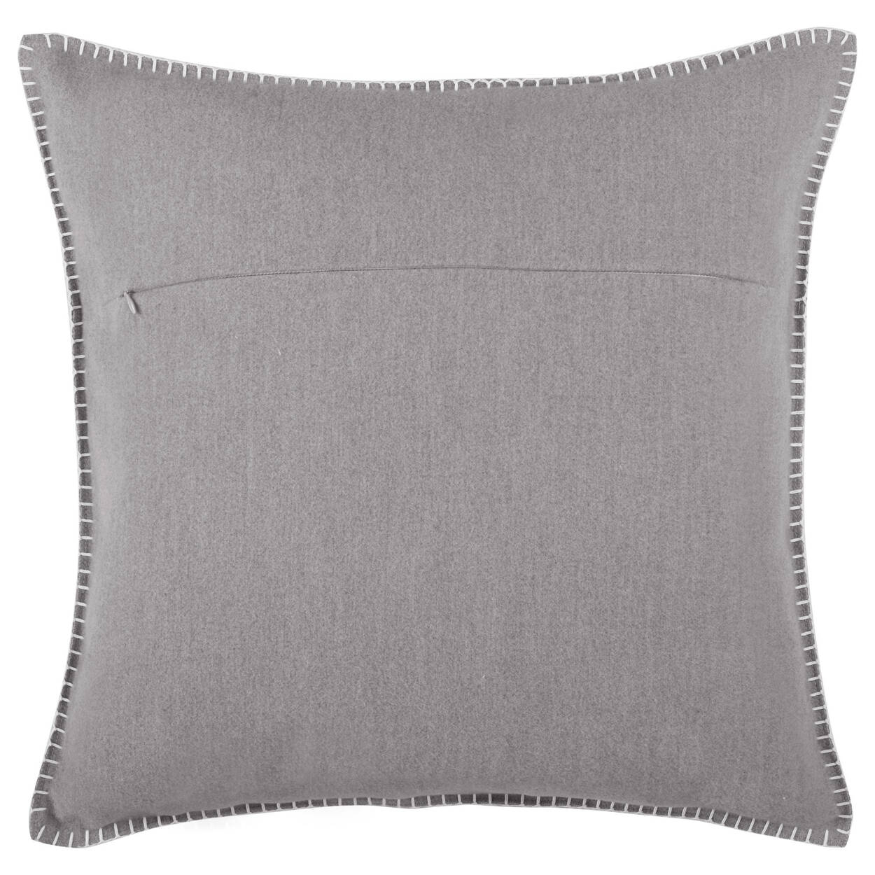 "Warm and Cozy Decorative Pillow 19"" X 19"""