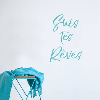 Suis tes rêves Wall Sticker