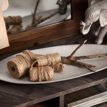 Decorative Wooden Leaf Plate