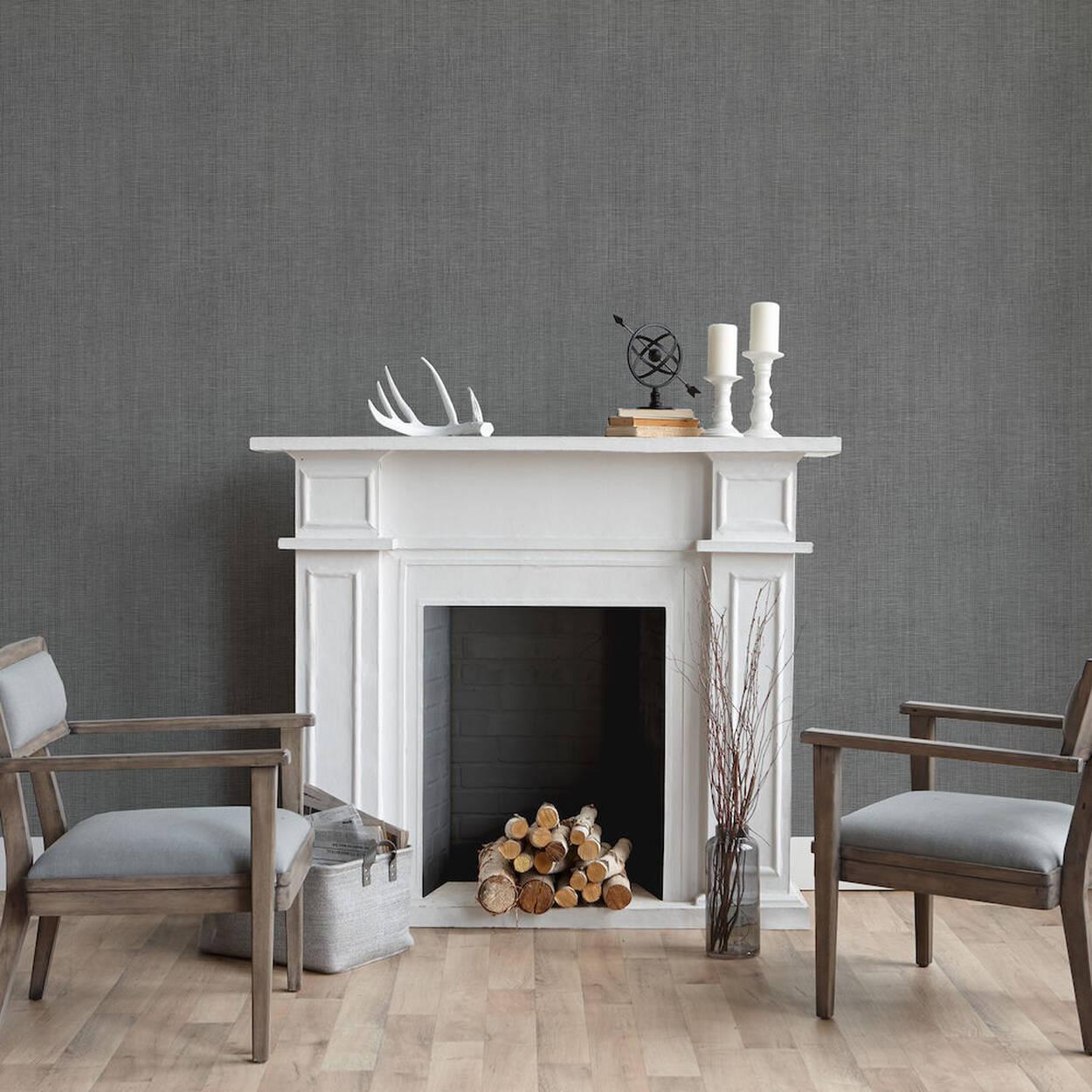 papier peint effet lin rouleau double. Black Bedroom Furniture Sets. Home Design Ideas
