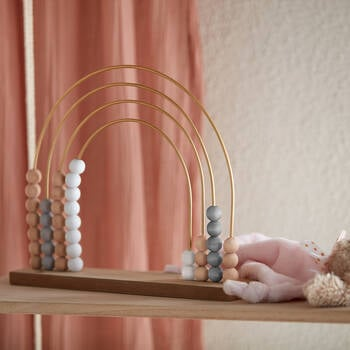 Decorative Wooden Rainbow Abacus
