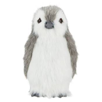 Decorative Faux Fur Penguin