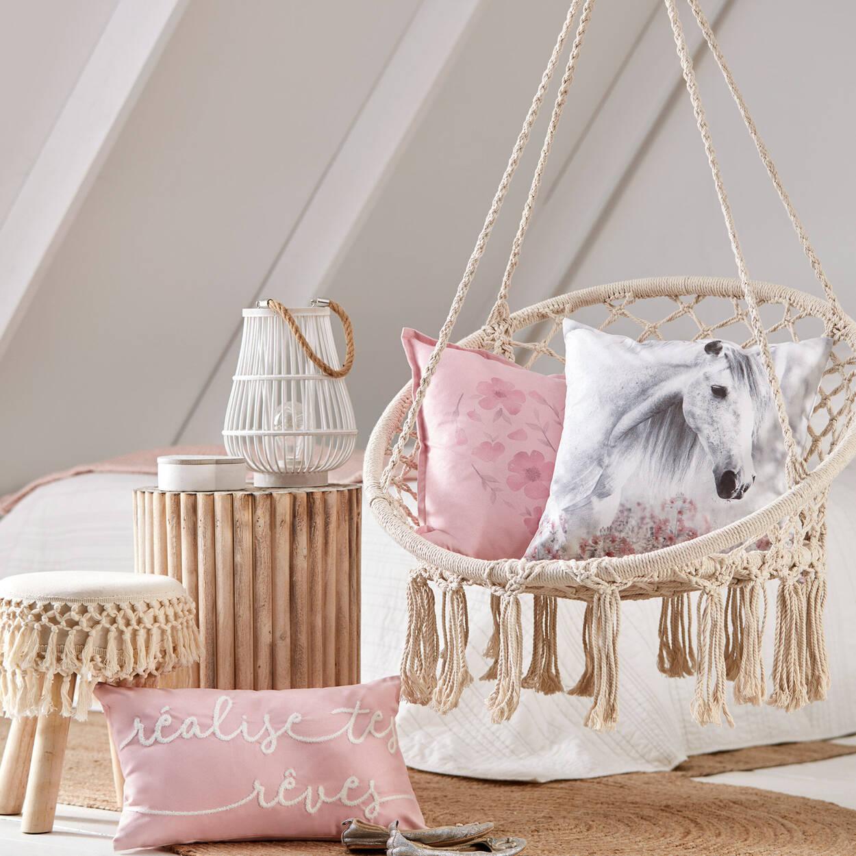 "Flower Trip Decorative Pillow 18"" x 18"""