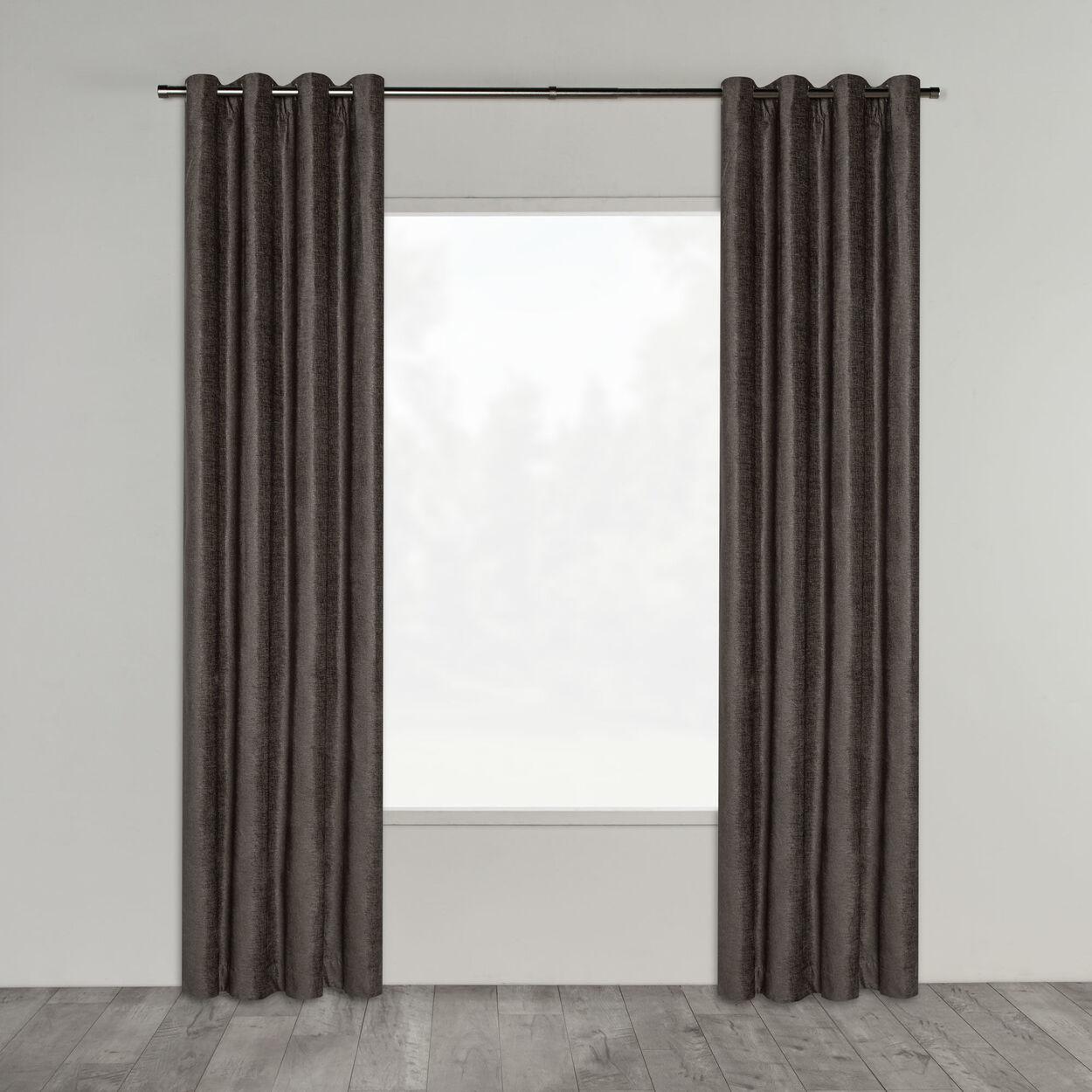 Elsee Crushed Velvet Panel Curtain