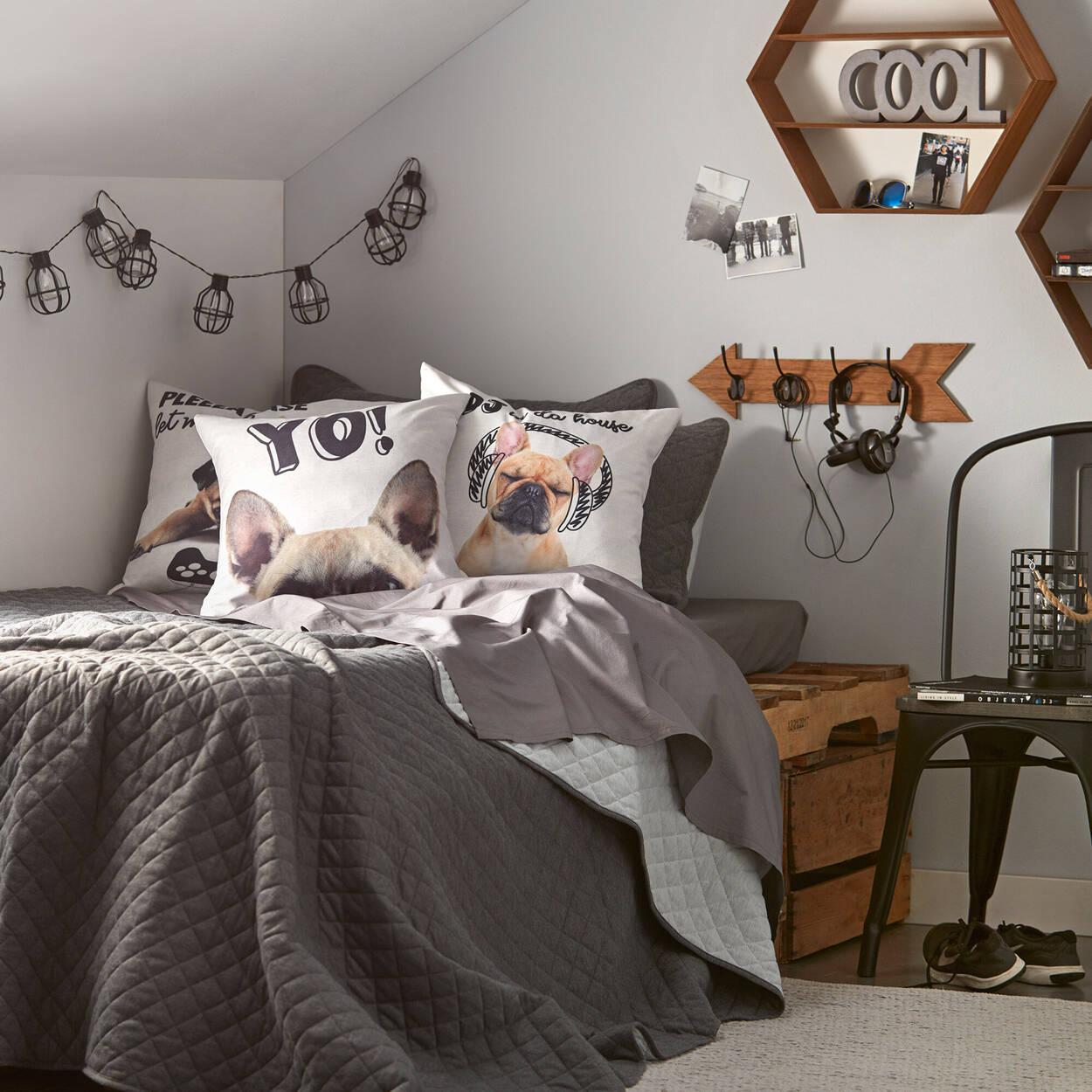 """Puggy Decorative Pillow 18"""" X 18"""""""
